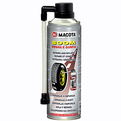 Tool to inflate and repair tyres