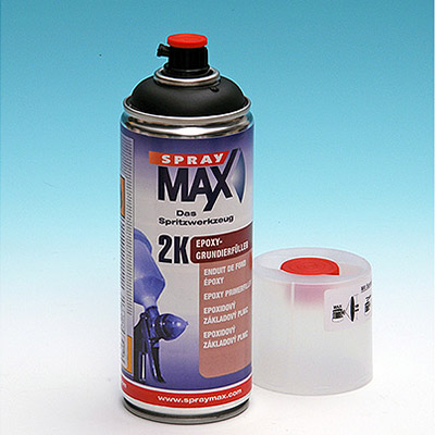 2k Epoxy Primer in spray for the best adhesion on aluminum, galvanized steel, iron, alloys   Beige (Primer)