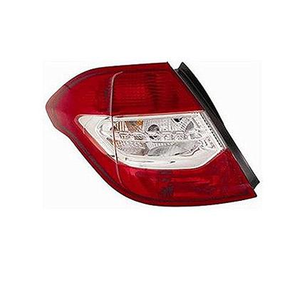 Left Exterior Rear Light CITROEN C4 Citroen C4 2010 - 2013