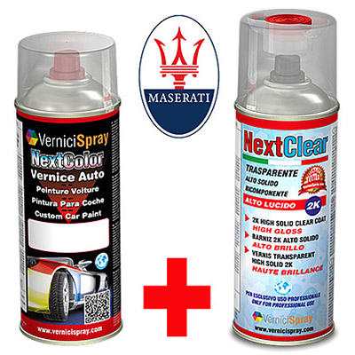 Bombolette Spray 400 ml MASERATI