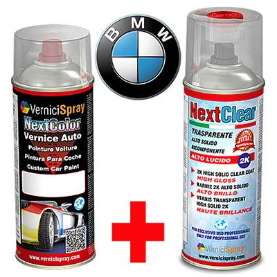 Kit Retouche Voiture en bombe pour réparation carrosserie BMW SERIE 3 557 AGAISHBLAU MET.