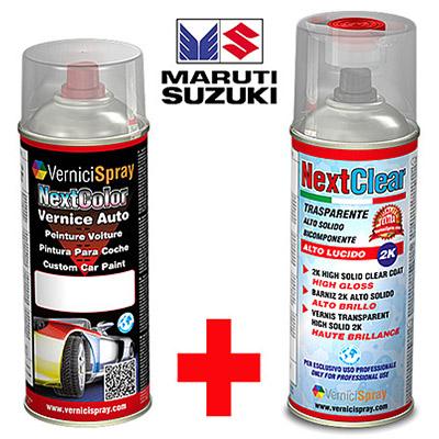 Kit Retouche Voiture en bombe pour réparation carrosserie MARUTI DZIRE ZTL CAFFINE BROWN MET.