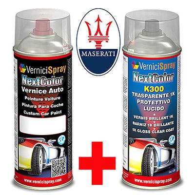 Bombolette Spray 400+400 ml MASERATI