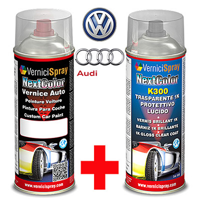 Bombolette Spray 400+400 ml VOLKSWAGEN / AUDI