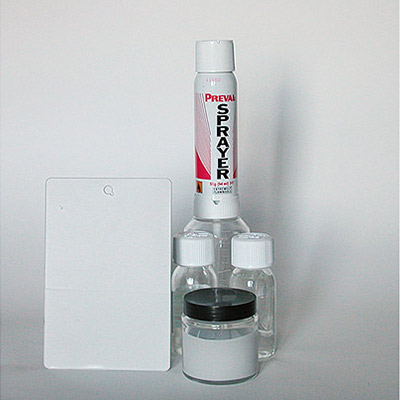 kit Acryl Filler st 2K - Acrylic Filler two-component with spray gun for Car Touch Up