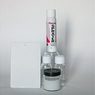Kit Akrylfuller - Fond acrylique bi- composants avec spray gun des Retouches professionnelles