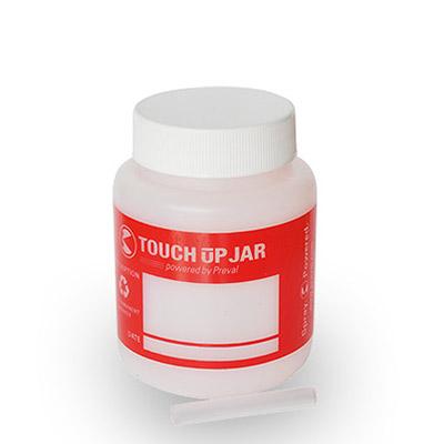 Plastic jar for Paints storage designed for Spray Gun Preval