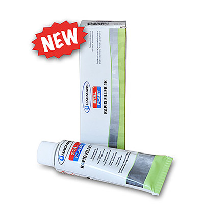 Rapid Filler - 1k Acrylic filler with short drying-time in tube by Hagmans StalPlast