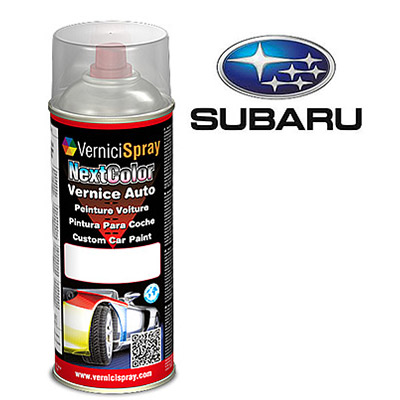Spray Car Touch Up Paint SUBARU LEGACY 01X WHITE MICA MET.