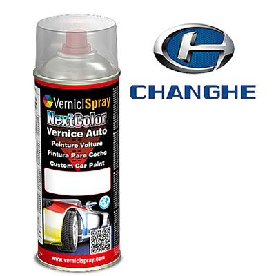 Vernice Spray per Ritocco Auto CHANGHE CHANGHE 09R ICELAND BLUE MET.