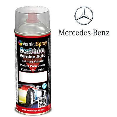 Vernice Spray per Ritocco Auto MERCEDES CLK 25 DESIGNO BRILLANTSCHWARZ MET.