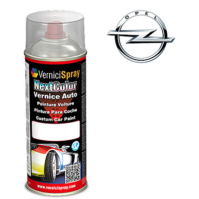 Vernice Spray per Ritocco Auto OPEL COMBO 2AU STAR SILVER III MET.