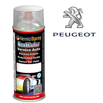 Vernice Spray per Ritocco Auto PEUGEOT 206 EZR GRIS ALUMINIUM MET.