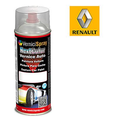 Vernice Spray per Ritocco Auto RENAULT R4 640/90 GRIS ICEBERG MET. (P.URTI = 640/1 )