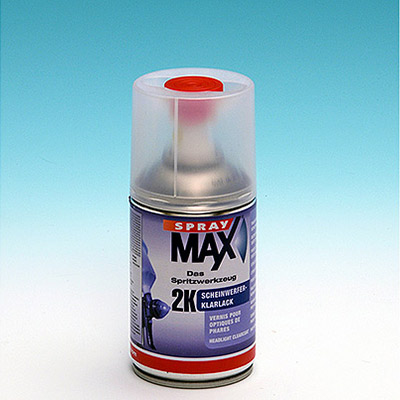 SPRAY MAX - Vernis 2k brillant de haute qualité en bombe de 250 ml