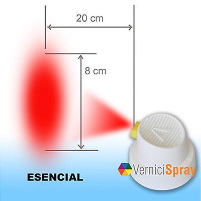 Difusor para spray para pequeñas superficies - 2 piezas
