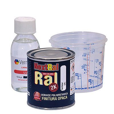 NextRal 2k Polyurethane Paint Matt RAL colours in can 250 gr