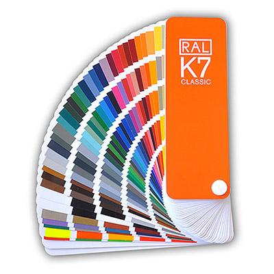 Guía de Colores Clásicos RAL K7