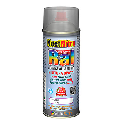 Nitro Paint in spray available in every matt RAL colour   Pure white