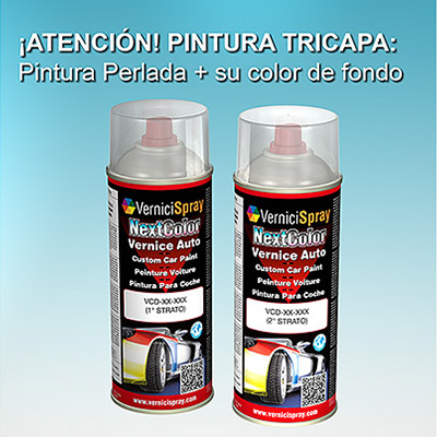 Pintura Coche Spray SUBARU TRIBECA 37J SATIN WHITE MET.