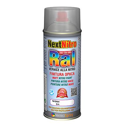 Bombe Peinture Nitro Mate dans les couleurs RAL   RAL 8011 Brun noisette