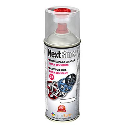 NextRims Ultra Resistente Pintura para Llantas Spray 2k