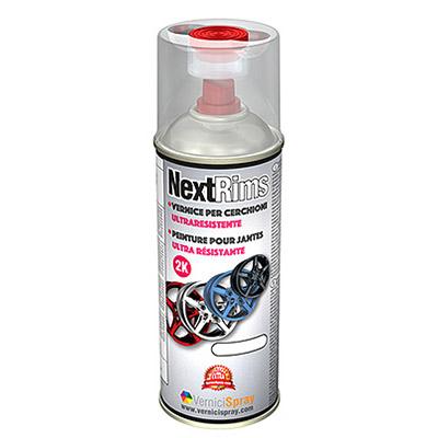 Vernice Spray per Cerchi ultra resistente   Alluminio Lucido