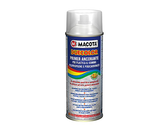 Primer fixative for plastic and rubber.