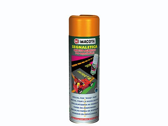 Segnaletica: vernice spray per segnaletica stradale 500 ml