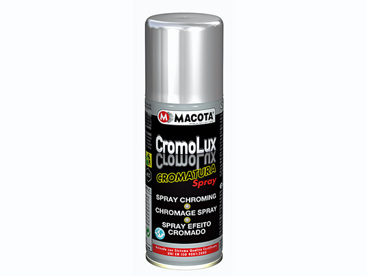 Chrome | Chrome spray | Chromium-plating Spray at HIGH RESISTANCE TO RUBBING 200 ml