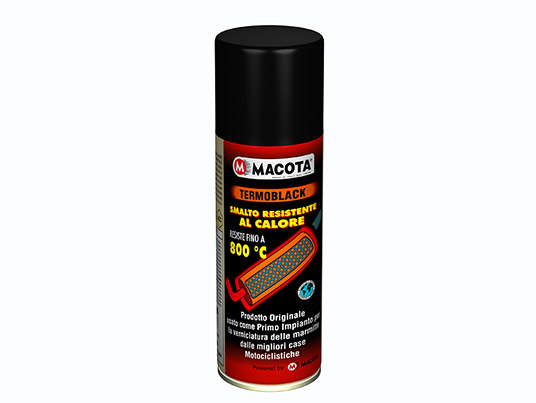 Vernice spray resistente al calore, per alte temperature per marmitte