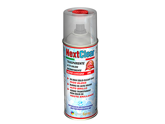 Professional High Gloss Lacquer 2k - High Solid Lacquer in spraycan for custom paints