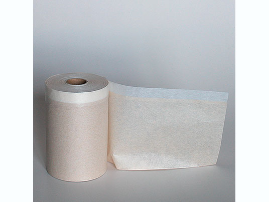 Polythene Masking Paper provided with adhesive tape