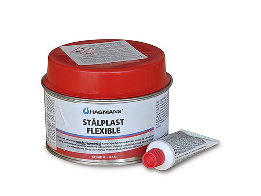 Hagmans StalPlast Flexibel - Polyester flexible filler
