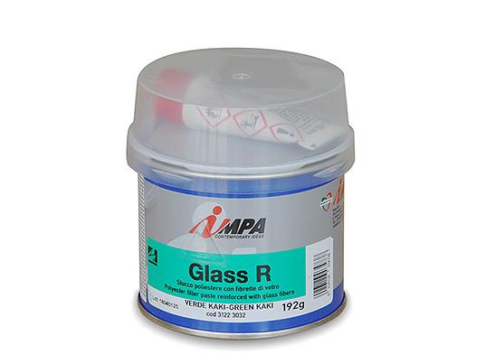 Stucco a base di resine Poliestere con fibre di vetro
