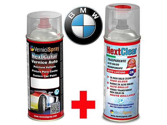 Kit Retouche Voiture en bombe pour réparation carrosserie BMW SERIE 3