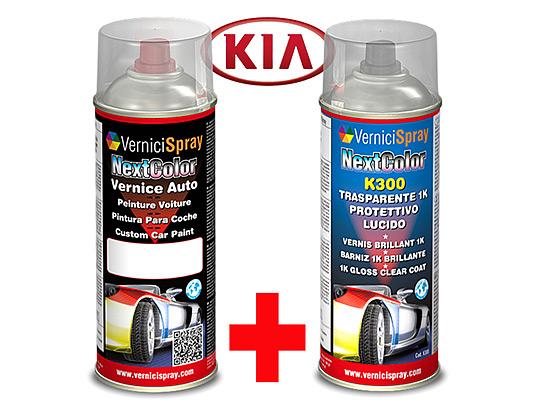 Kit de Retoque Pintura spray y Barniz para auto KIA MAGENTIS