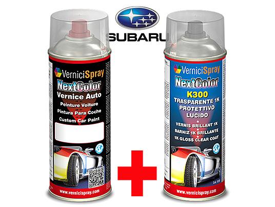 Kit de Retoque Pintura spray y Barniz para auto SUBARU TRIBECA