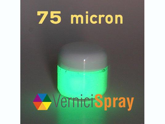 Vernice Fosforescente con Pigmento da 75 micron - 50 gr
