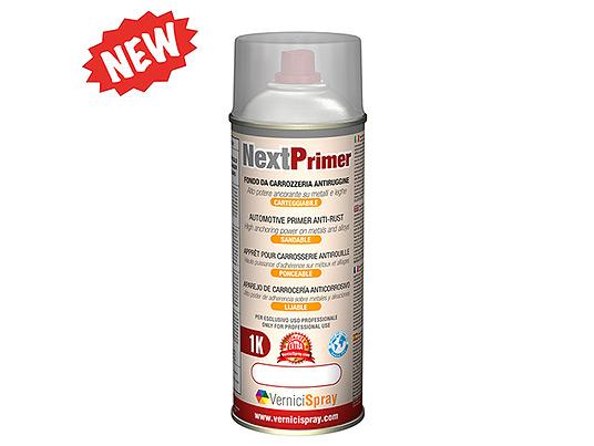 NextPrimer - Spray aparejo monocomponente para pintura automóvil y metales