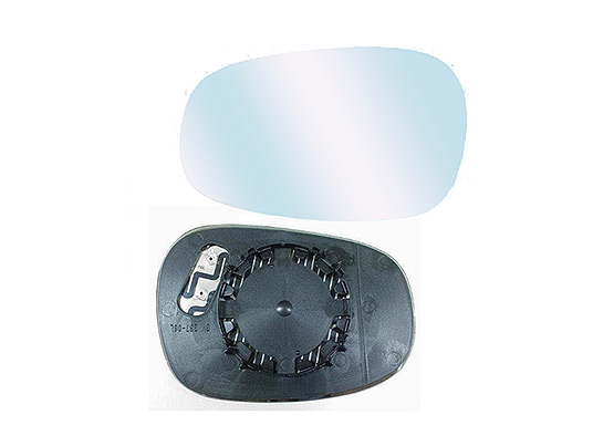 destro termico Specchio Retrovisore Specchietto Vetro Con Piastra