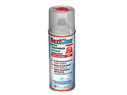 Barniz transparente Alto Brillo spray 400 ml para acabado resistente
