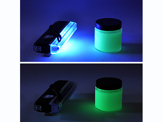 Black Light Portable Lamp 4W, battery-powered