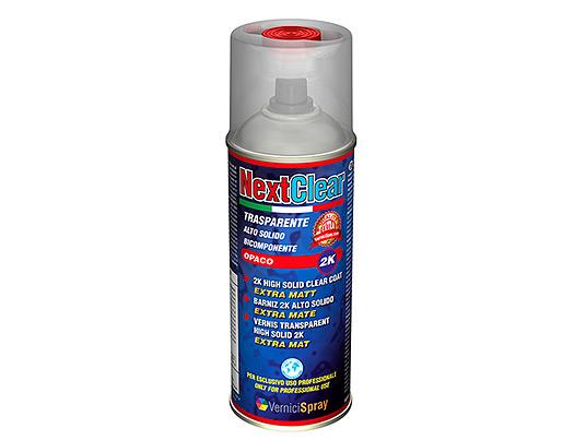 Barniz bicomponente Mate en aerosol de 400 ml para coches y modelismo