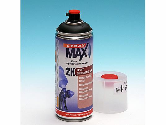 Fondo epossidico 2k spray per ancoraggio su alluminio, metalli nudi ferrosi, leghe