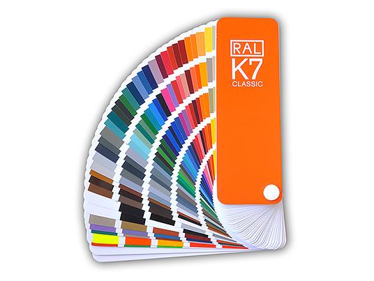 Carta de Colores Clásicos RAL K7