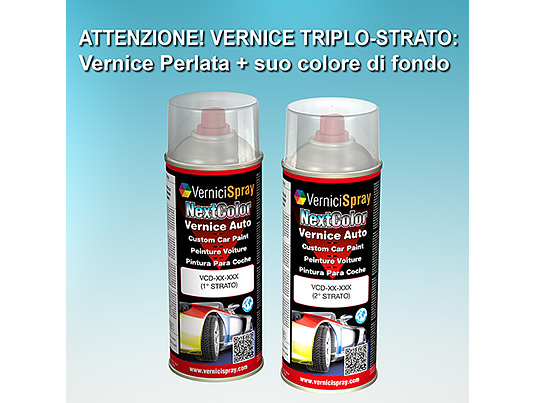 Vernice Spray per Ritocco Auto CHEVROLET EUROPE CAPTIVA