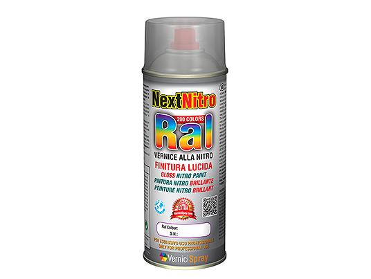 Bombe de peinture RAL Nitro brillante dans les couleurs RAL