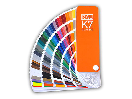 Colour fan deck RAL K7 Classic