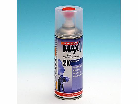 Vernis brillant professionnel 2k catalysé à activer - Pour Carrosserie spraymax
